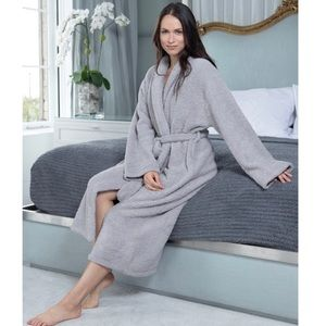 Barefoot Dreams Cozy Chic Robe Gray Size 1
